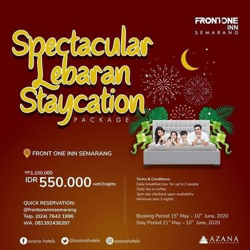 FRONT ONE INN SEMARANG Promo SPECTACULAR LEBARAN STAYCATION (26069227) di Kota Semarang