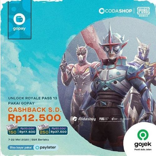 Coda Shop Promo Cashback Via Gojek Jakarta Selatan Jualo