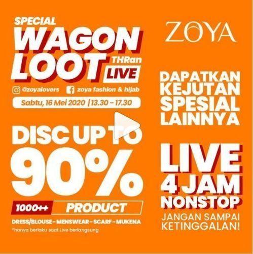 Zoya - Promo Diskon Up To 90% (26077803) di Kota Jakarta Selatan