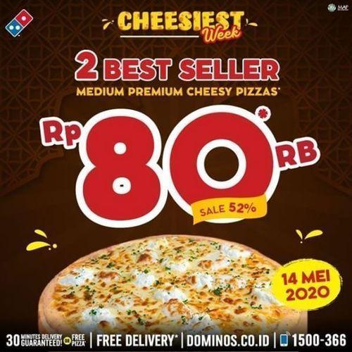 Dominos - Promo Medium Pizzas (26077823) di Kota Jakarta Selatan