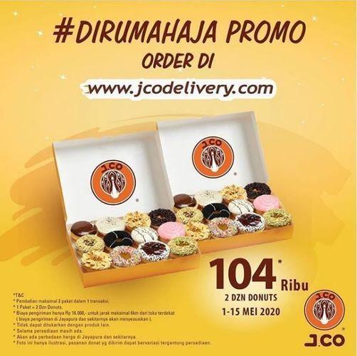 J.CO - Promo Dirumah aja (26077935) di Kota Jakarta Selatan