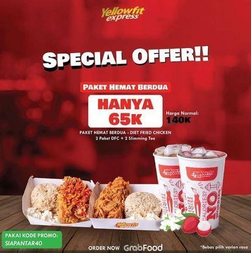 Yellowfit Express - Promo Special Paket Berdua (26077947) di Kota Jakarta Selatan