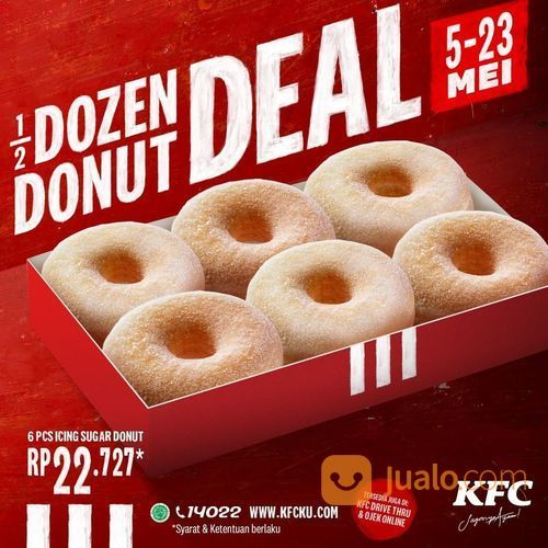 KFC 1/2 Dozen Donut Deal (26084923) di Kota Jakarta Selatan