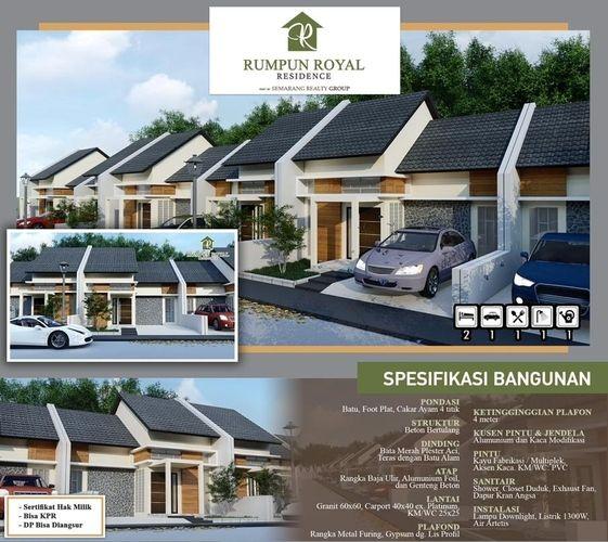 Rumah Semarang Dekat Kampus UNIMUS Dan RSUD Ketileng (26089451) di Kota Semarang