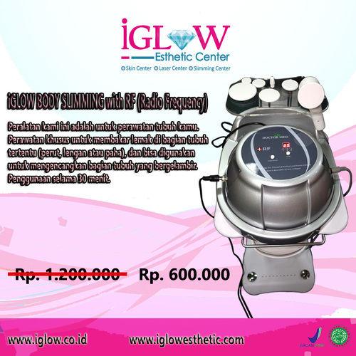 IGlow Esthetic Center - Jasa Treatment Utk Mengurangi Lemak With RF (Radio Frequency) (26089739) di Kota Jakarta Selatan