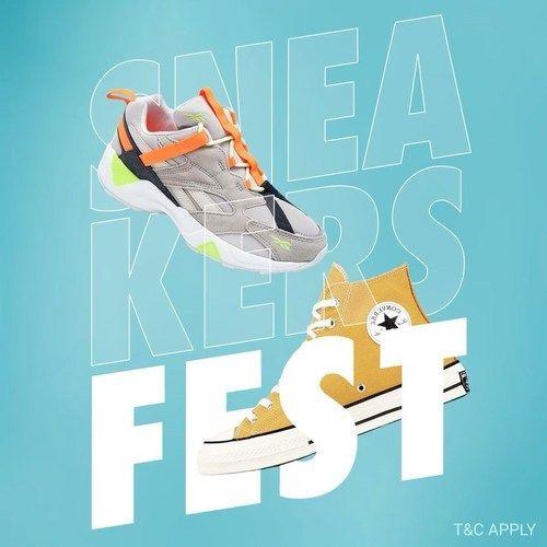 Planet Sports Sneakers Fest Up To 40% Off (26093467) di Kota Jakarta Selatan