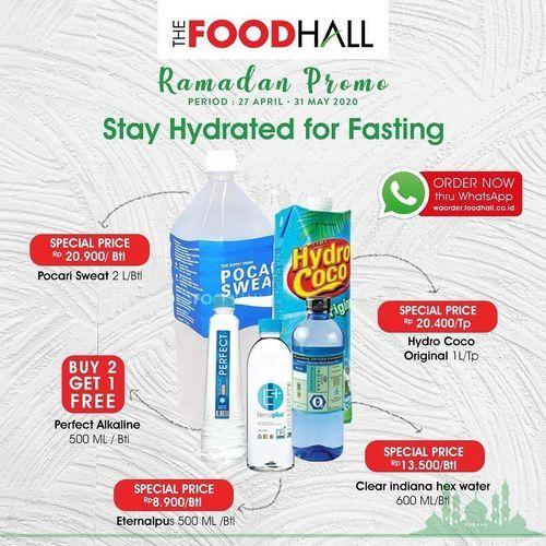 FoodHall Stay Hydrated For Fasting (26093495) di Kota Jakarta Selatan
