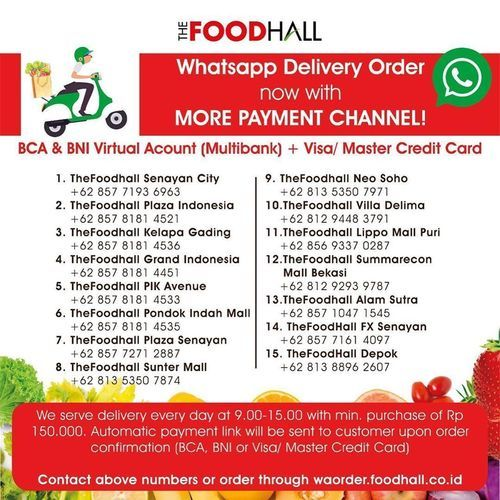 FoodHall Stay Hydrated For Fasting (26093503) di Kota Jakarta Selatan