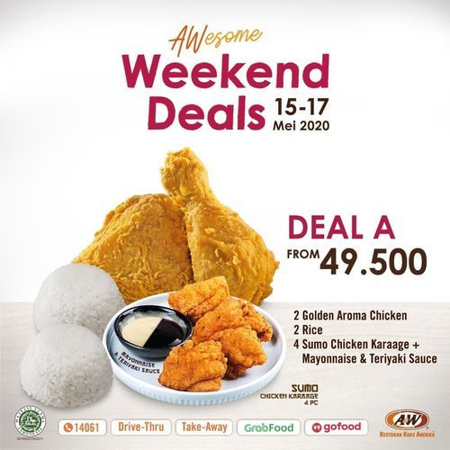A&W Restaurant Weekend Deals (26094911) di Kota Jakarta Selatan