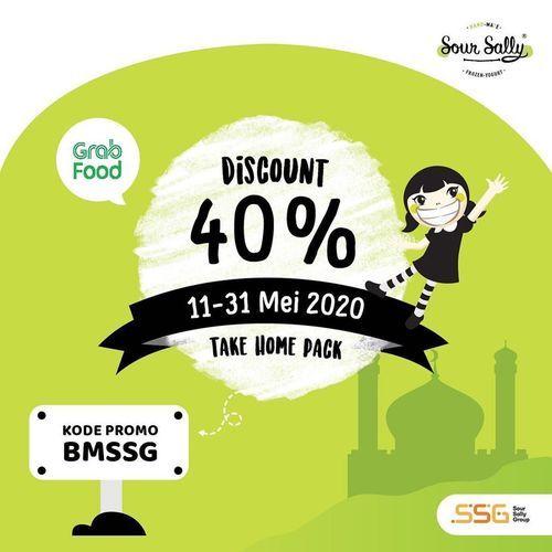 Sour Sally DISKON 40% via grabfood dengan kode promo (26097039) di Kota Jakarta Selatan