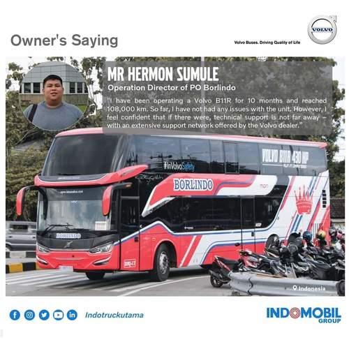 VOLVO BUS B11R 430HP 6x2, I-SHIFT 12 SPEED. KABUPATEN TANGERANG (26097867) di Kab. Tangerang
