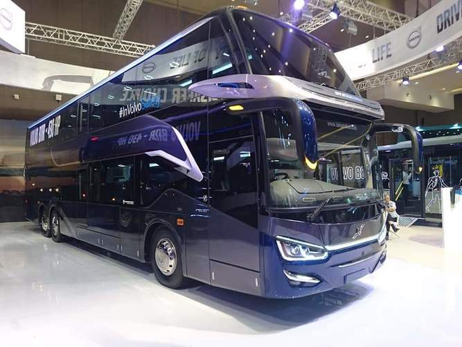 VOLVO BUS B11R 430HP 6x2, I-SHIFT 12 SPEED,. KOTA MAGELANG (26098527) di Kota Magelang