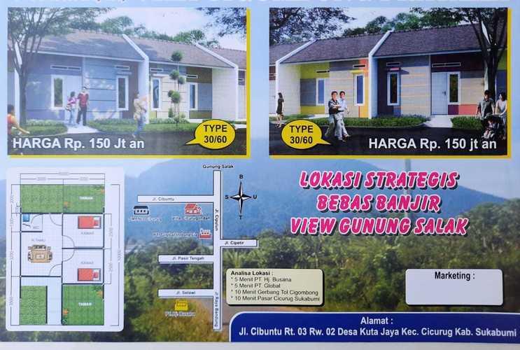 Villa Cicurug Pratama Perumahan Subsidi Nyaman Dan Asri (26098627) di Kab. Sukabumi