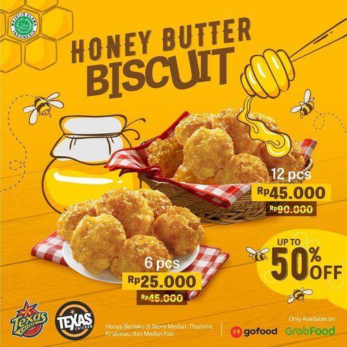 Texas Chicken Honey Butter Biscuit (26100467) di Kota Jakarta Selatan