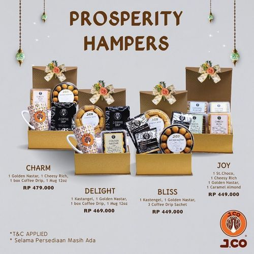 J.CO Prosperity Hampers (26100471) di Kota Jakarta Selatan