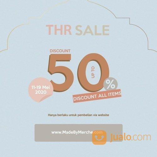 Merche THR Sale 50% All Items (26100527) di Kota Jakarta Selatan