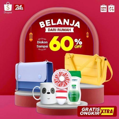 Miniso Belanja Dari Rumah Diskon 60% (26100551) di Kota Jakarta Selatan