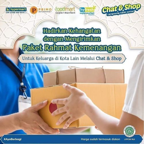 Hypermart Chat & Shop Paket Rahmat Kemenangan (26100603) di Kota Jakarta Selatan