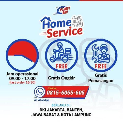 Planet Ban Home Service (26102227) di Kota Jakarta Selatan