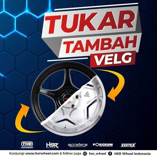 HSR Wheel Tukar Tambah Velg (26102231) di Kota Jakarta Selatan