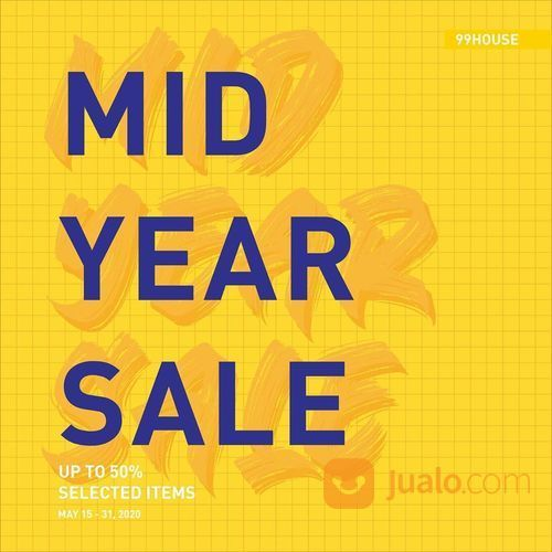 99House Mid Year Sale Up To 50% Selected Items (26102411) di Kota Jakarta Selatan