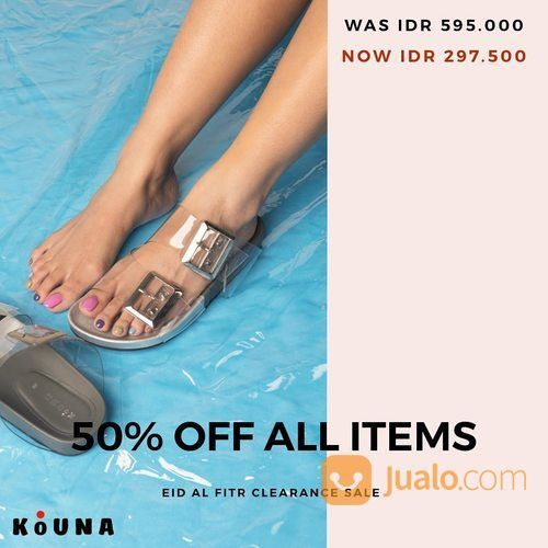 Kuona Shoes 50% Off All Itmes (26102427) di Kota Jakarta Selatan
