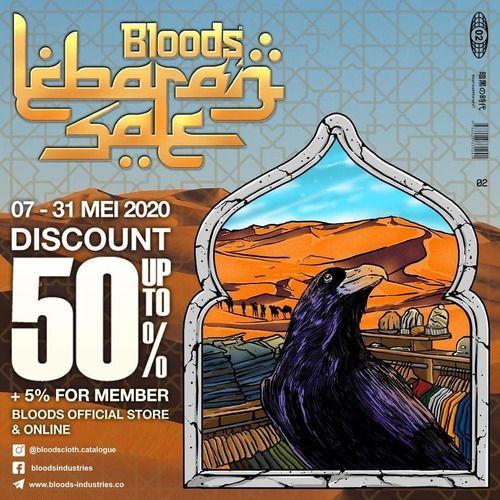Bloods Lebaran Sale Discount 50% Off (26102463) di Kota Jakarta Selatan