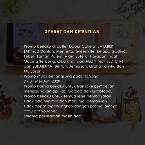 Dapur Cokelat WFH Treats (26102479) di Kota Jakarta Selatan