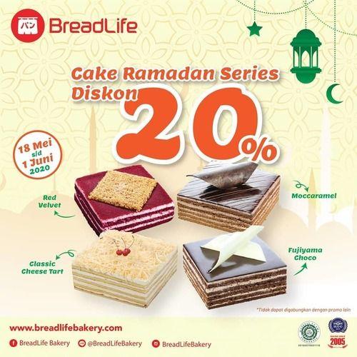 Breadlife Cake Ramadan Series Diskon 20% (26102507) di Kota Jakarta Selatan