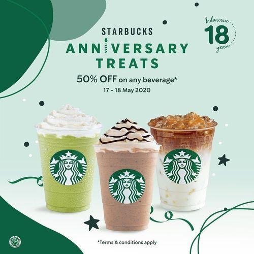 Starbucks Anniversary Treats (26102731) di Kota Jakarta Selatan