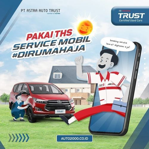 Toyota Trust Service Mobil Dirumah Aja (26102863) di Kota Jakarta Selatan