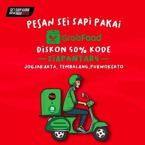 SEI SAPI KANA KODE PROMO Diskon 50% untuk pemesanan via grabfooD (26112179) di Kota Jakarta Selatan