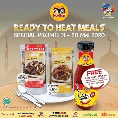 HOKBEN PROMO GRATIS 1 BOTOL EXTRA HOT CHILLI SAUCE 200 ML (26112951) di Kota Jakarta Selatan