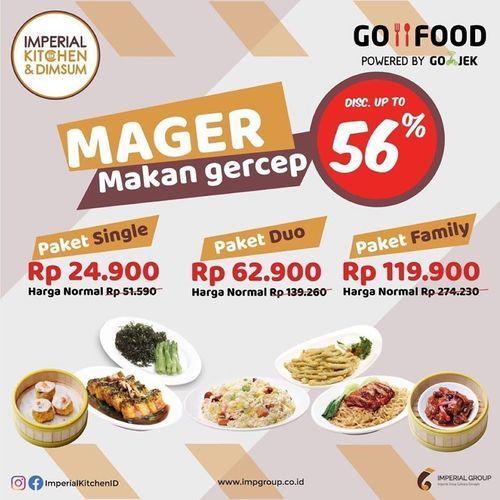 Imperial Kitchen Makan Gercep Disc. Up To 56% (26113199) di Kota Jakarta Selatan
