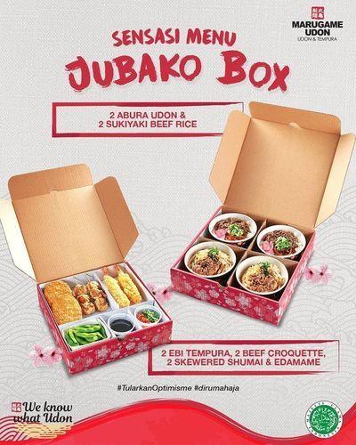 Marugame Udon Dubako Box (26114055) di Kota Jakarta Selatan