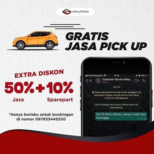 Rotary Gratis Jasa Pick Up Extra Diskon 50% + 10% (26114123) di Kota Jakarta Selatan