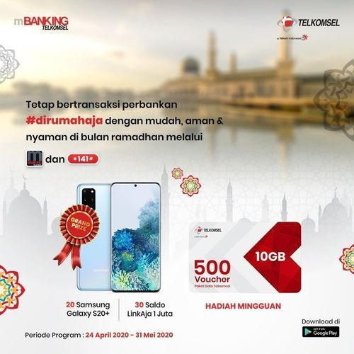 TELKOMSEL PROMO BERHADIAH MENARIK Samsung Galaxy s20+, Saldo LinkAja senilai Rp1 juta (26119071) di Kota Jakarta Selatan