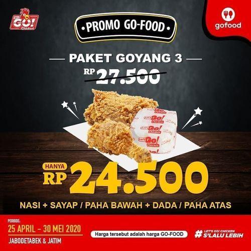 LETSGO CHICKEN Promo PAKET GOYANG RP 24.500 (26119331) di Kota Jakarta Selatan