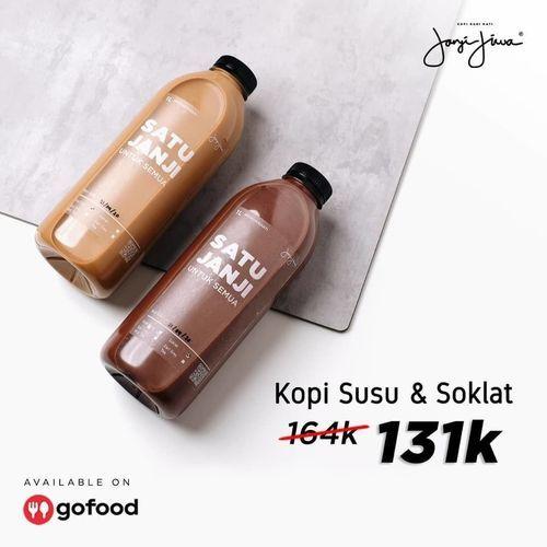 KOPI JANJI JIWA PROMO KOPI SUSU & SOKLAT HANYA 131.000 (26126279) di Kota Jakarta Selatan