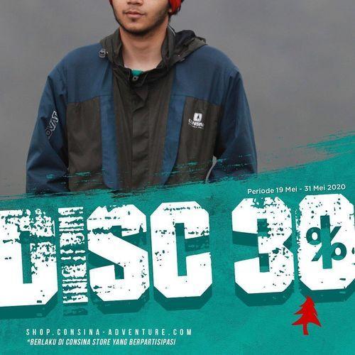 Consina Promo Discount 30% (26126403) di Kota Jakarta Selatan