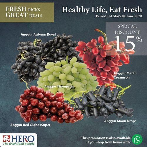 Hero Supermarket Healthy Life Eat Fresh Special Discount (26126467) di Kota Jakarta Selatan