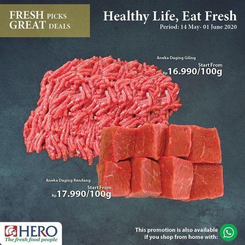 Hero Supermarket Healthy Life Eat Fresh Special Discount (26126471) di Kota Jakarta Selatan