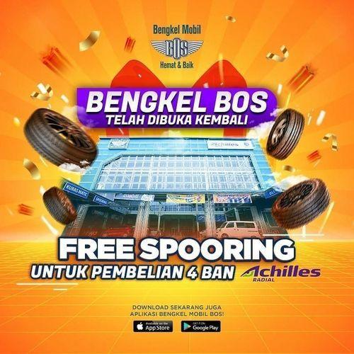 Bengkel BOS Free Spooring (26126515) di Kota Jakarta Selatan