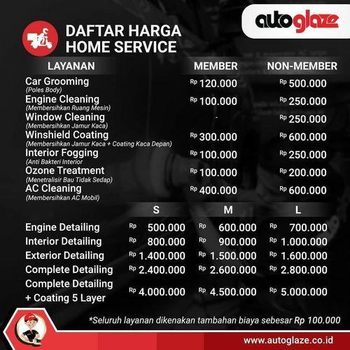 Autoglaze Home Service (26126527) di Kota Jakarta Selatan