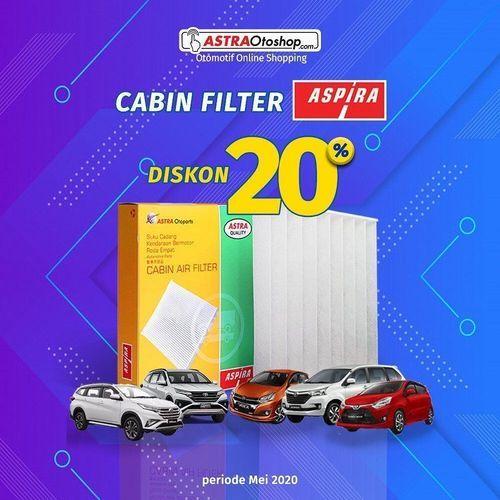 Astraotoshop.com Diskon 20% Cabin Filter (26126535) di Kota Jakarta Selatan