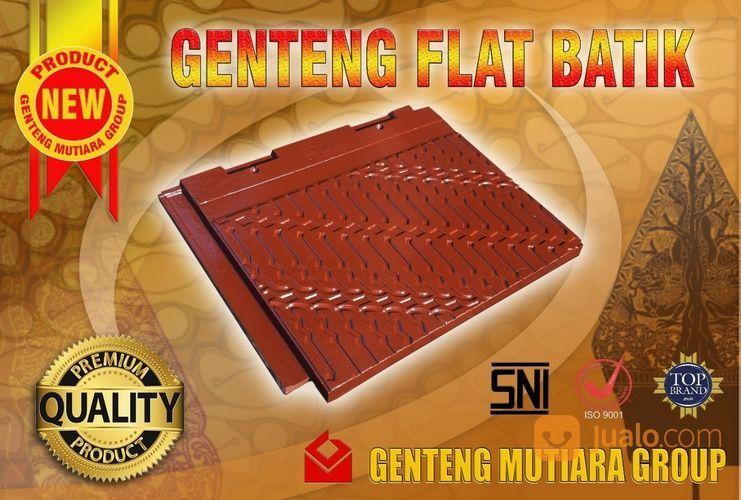 Genteng Flat BATIK Qualitas Premium Mutu Beton SNI (26128967) di Kab. Tangerang