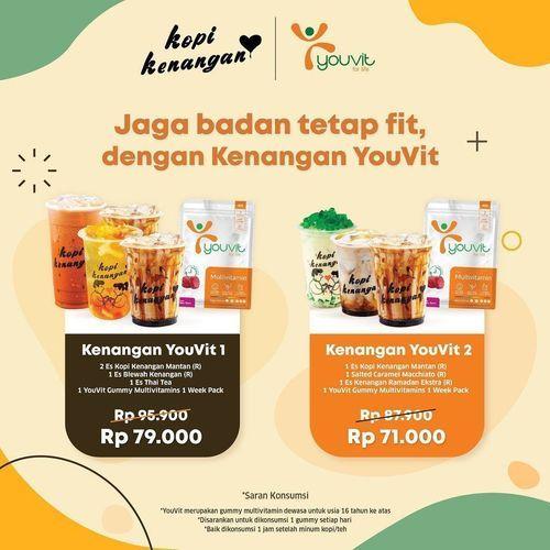 Kopi Kenangan Paket Kenangan YouVit Special Prices (26134675) di Kota Jakarta Selatan
