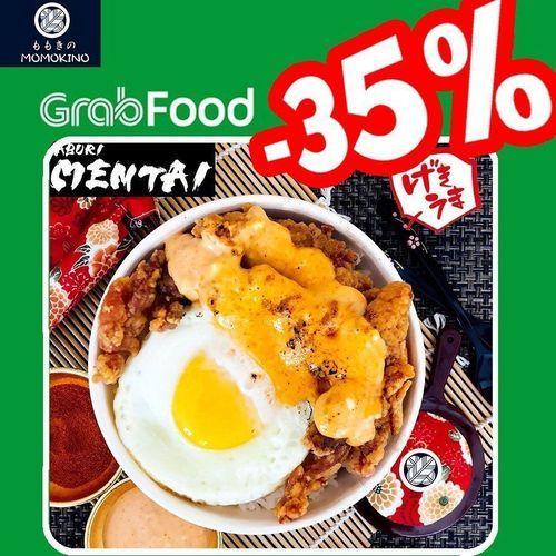 MOMOKINO Diskon 35% Grabfood (26134887) di Kota Jakarta Selatan