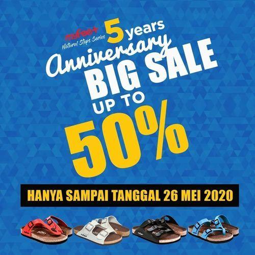 MyFeet Anniversary Big Sale Up To 50% (26135115) di Kota Jakarta Selatan