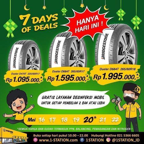 1 Station Promo 7 Days Of Deals (26135211) di Kota Jakarta Selatan